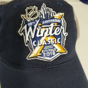 388160f9e14 adidas Accessories - NHL Winter Classic Citi Field 2018 Mesh Hat
